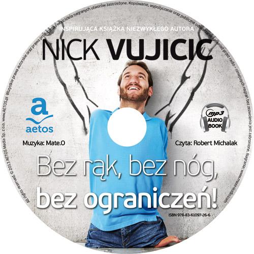 Bez rąk, bez nóg, bez ograniczeń! Audiobook